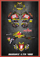 SUZUKI LTR 450R LTR450 QUADRACER SEMI CUSTOM GRAPHICS KIT primal