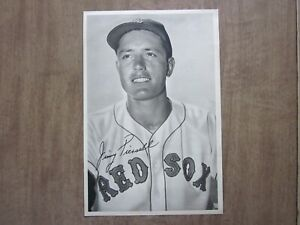 1954 Boston Red Sox Jimmy Piersall Team Issued Picture Pack Photo