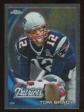 2010 Topps Chrome Tom Brady New England Patriots