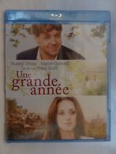 A Good Year [2006]f(Blu-ray Region-Free)~~~~Russell Crowe~~~~NEW & SEALED