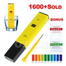 Best Digital PH Meter Tester Pocket Portable Pool Water Aquarium Hydroponic
