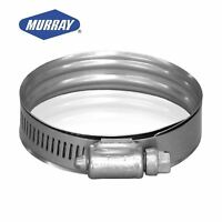 Genuine Murray Dual Bead Super Sealing Clamp Stainless 52mm - 76mm DB 40SS305