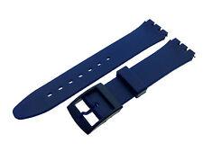 # sw626 # Orologi braccialetto compatibile per Swatch Orologi Unisex PVC 17 mm NUOVO