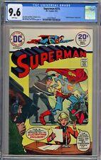 Superman #275 CGC 9.6 NM+ Wp DC 1974 Man of Steel + Curt Swan Art RARE WHITE PGS