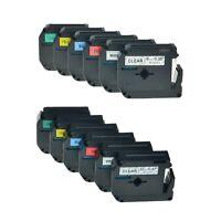 MK M-K 131-731 121-721 Étiquettes Ruban Laminé Pour Brother P-Touch 9/12mm
