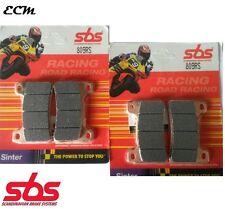 Honda CBR1000RR ABS 2010 Fireblade Front Brake Pads SBS 809RS Race Sinter