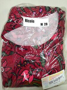 LuLaRoe Nicole Dress Size Medium 28