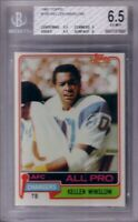 Kellen Winslow San Diego Chargers 1981 Topps Rookie Card RC graded BGS (PSA) 6.5