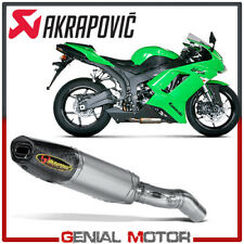 Exhaust Titanium Approved Muffler Akrapovic for Kawasaki ZX-6 R 2007 > 2008