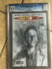 DOCTOR WHO THE WHISPERING GALLERY #1 cgc 9.9 10th Doctor RRP Sketch VARIANT