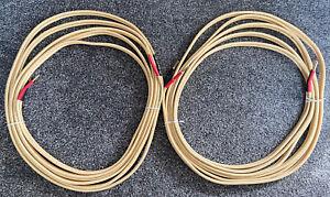 Van Den Hul CS122 Speaker Cable Banana Plugs 2 X 5.5m