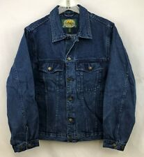 Cabela's Mens Roughneck Unlined Denim Jean Jacket ~ Size Small NEW