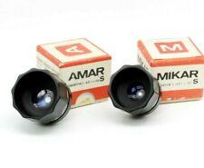 Vintage Lens for enlarger AMAR 4.5/105. and Mikar 4.5/55 M42. PZO M42 Mount L02