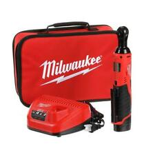 Milwaukee Cordless Ratchet Kit 3/8 in. 12V Li-Ion Cordless Battery Charger Bag