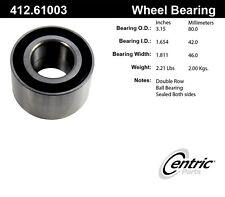 Centric Parts 412.61003E Rear Wheel Bearing