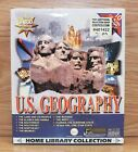 U.S. Geography Home Library Collection (Win / Mac 10 CD-ROMs) Explore Midwest +!