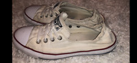 Chuck Taylor, Women's 10, White, Converse Shoreline, Well Loved