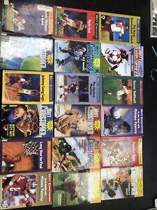 Matt Christopher sports book lot of 18