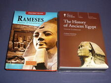 Teaching Co Great Courses DVDs            HISTORY of ANCIENT EGYPT   new + BONUS