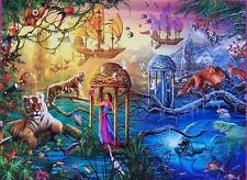 CEACO JIGSAW PUZZLE MAGICAL WORLD SHANGRI-LA CIRO MARCHETTI 750 PC #2994-8