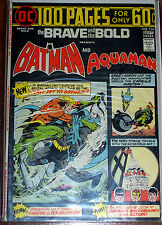 BRAVE & THE BOLD #114 (VG/FN) AQUAMAN! BATMAN! 100 Page Giant! DC 1974 LQQK!