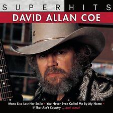 DAVID ALLAN COE : SUPER HITS (CD) sealed
