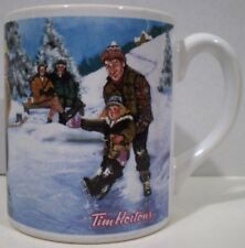 Tim Hortons Mug Skating Pond Limited Edition 2003 English and French