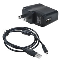 IN-Camera USB AC Power Adapter Battery Charger + PC Cord For Nikon Coolpix S3300