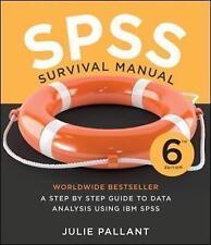 SPSS Survival Manual by Julie Pallant (Spiral bound, 2016)