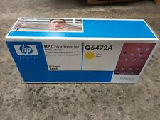 1 Original HP Toner Q6472A Yellow NEU OVP A-Ware LaserJet 3600 Rg MwSt