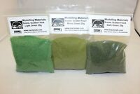 Model Flock Material Green Multipack - 3 x 20g Packs - Hornby Wargame Diorama