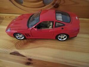 Modellauto Burago Ferrari 550 Maranello 1:18