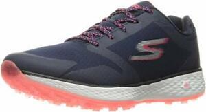 Skechers Performance Women's Go Golf Birdie Golf Shoe, Navy/Pink, 7 M US - NEW