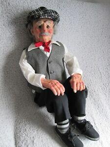 Ventriloquist Puppet Dummy Steve Barry Ventriloquism Magic Doll 3 Movements