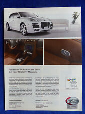TECHART Magnum Porsche Cayenne-ANNONCE PUBLICITAIRE Publicité Publications 2007 __ (407