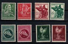 8x Deutsches Reich - postfrisch - 1944 (841B)