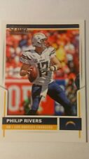 NFL Trading Card Philip Rivers Los Angeles Chargers Score 2017 Panini