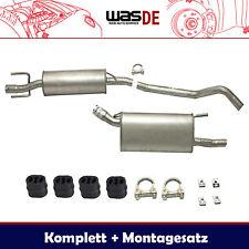 Komplette Auspuffanlage Auspuff Opel Corsa B 1.2-1.7 1993-2000 Schalldämpfer