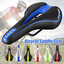 Bike Skidproof Saddle Mountain MTB Bicycle Cycling Comfort Seat Gel Pad UK