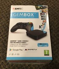 EMTEC Gembox, Android TV Box for Gamers, Android games and Emulators, Stream