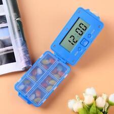 Pill Box Daily Reminder Timing Alarm Medicine Case Tablet Storage Days Organizer