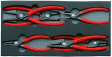 Knipex 6pc Snap Ring Plier Set Internal External Circlip 002001V02 in Foam Tray