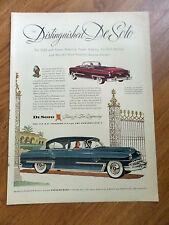 1953 DeSoto FireDome & Convertible Ad