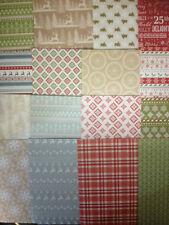 Confezione da 16 fogli di degustazione desideri di Natale 6 x 6 Card Making Scrapbooking Craft Carta