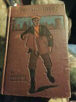 HORATIO ALGER JR. BOOK: DO & DARE Hurst  & Company Publishers Antique Vintage
