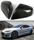 FOR 12-2021 TESLA MODEL S DIRECT ADD-ON REAL CARBON FIBER SIDE MIRROR COVERS CAP
