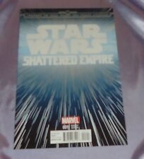 Star Wars Shattered Empire #1~Hyperspace Variant~Cgc Worthy~Marvel Movie~