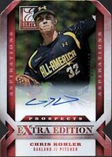 JC) 	2013 Elite Extra Edition Signature Aspirations Chris Kohler  #096/100 AUTO