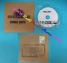 CD Singolo AFRICA UNITE Judge not PROMO ITALY 2001  5002 697 CARDSLEEVE(S26)