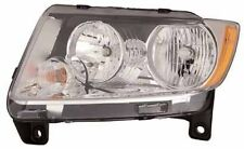 2011-2012 Jeep Grand Cherokee New Left Driver Side Halogen Headlight Assembly